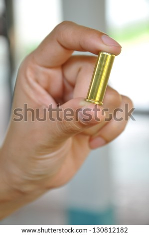 A bullet is a projectile propelled by a firearm, sling, or air gun.