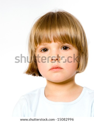 A child portrait - stock photo