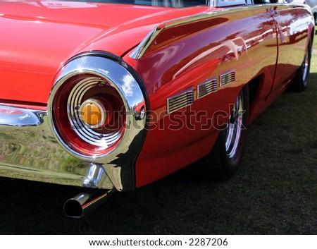 A classic vehicle - stock photo