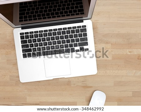 A close up shot of a open laptop
