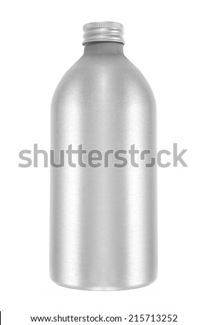 A close up shot of a water bottle cannister - stock photo