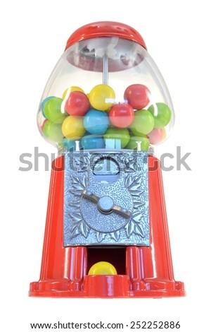 A close up shot of bubble gum - stock photo