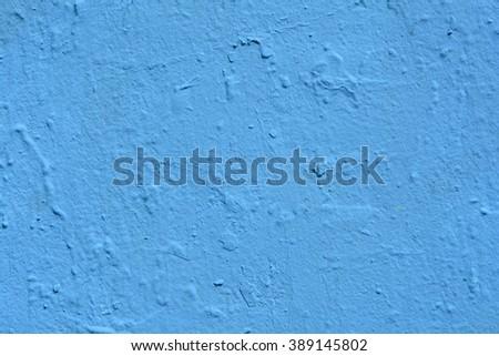 a closeup of a blue wall - stock photo
