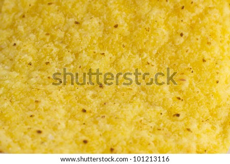A closeup picture of a nacho chips - stock photo