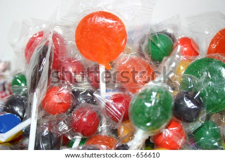 A colorful assortment of candy.