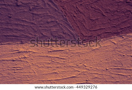 A colorful paint on canvas. - stock photo