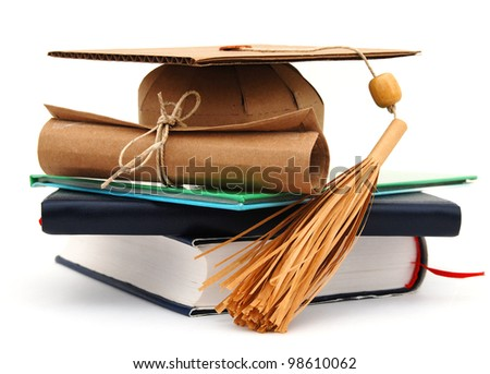 A completed graduation class - stock photo