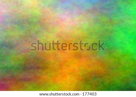 A computer generated colored plasma cloud. - stock photo