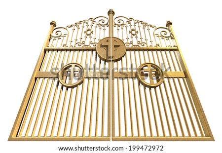 Pearly Gates of Heaven The Golden Gates to Heaven