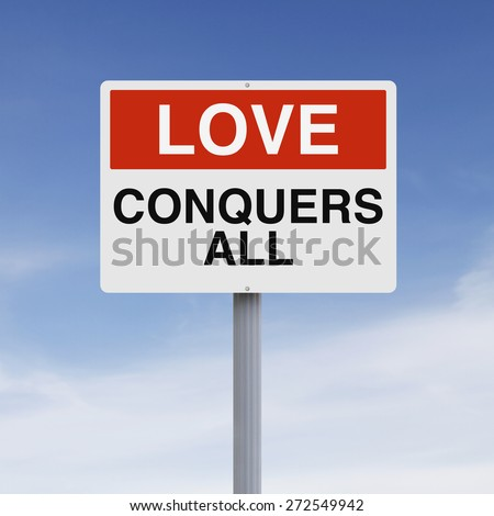 A conceptual sign on Love