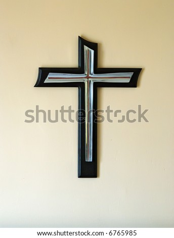 A cross - stock photo