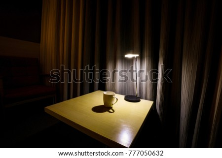 A Cup under the light