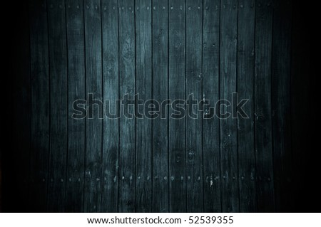 A dark wood background - stock photo