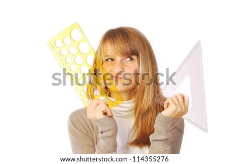 A day of daily life at school or in the office - 211 - stock photo