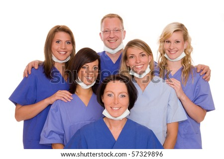 A doctor team - stock photo