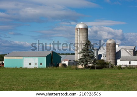 A Farm near Burlington, USA