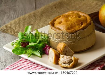 Melton Mowbray Pork Pie Stock Images, Royalty-Free Images ...