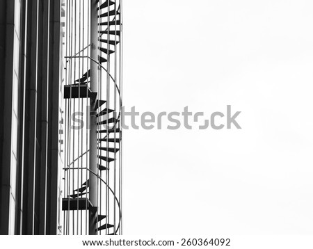 A Fire Escape Stairs