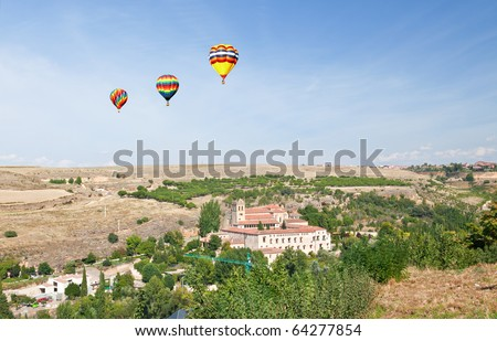 A general view of Segovia countryside in Spain