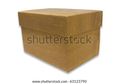 A gift box - stock photo