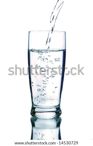 a glass of mineral water high resolution image