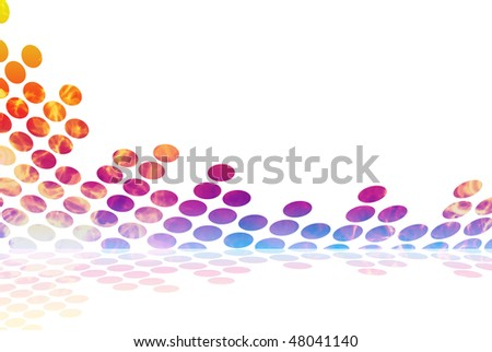 A graphic audio waveform illustration with a fiery burning texture. - stock photo