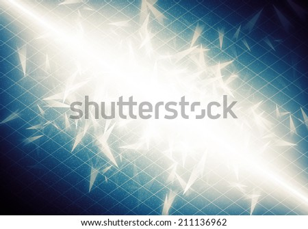 a graphic of fantasy explosion abstract background