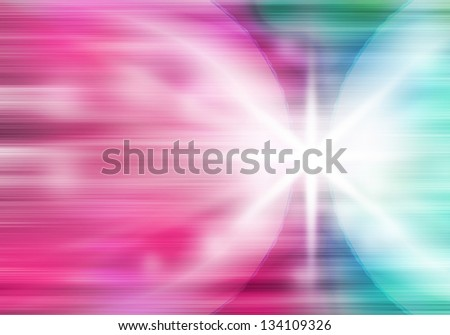 a graphic of fantasy fusion power abstract background - stock photo