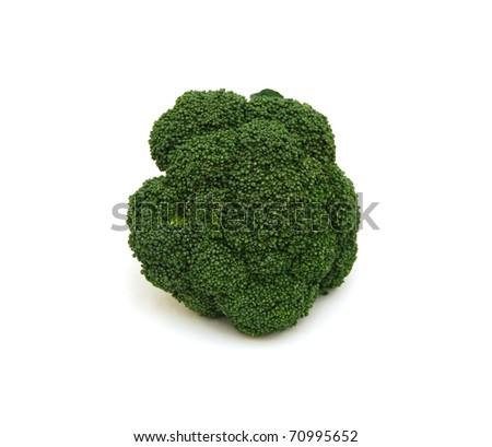 A green broccoli - stock photo