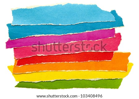 a group of colored pencils - stock photo