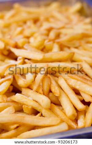 A Group of French Fried Potato