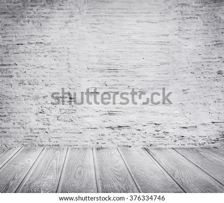 a grunge background with space - stock photo
