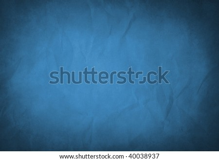 A grunge blue texture with space for text or images. - stock photo