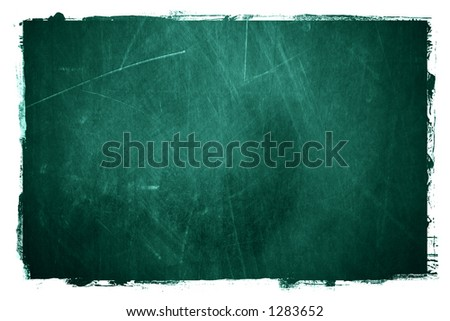 a grunge textured type of chalkboard background.