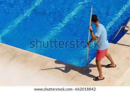 Pool Maintenance pool maintenance stock images, royalty-free images & vectors