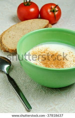 A healthy breakfast - stock photo