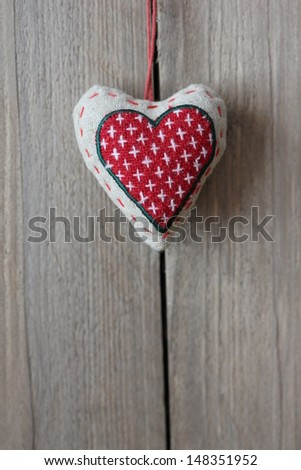 A heart filled with love - stock photo