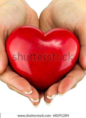 A heart for you - stock photo