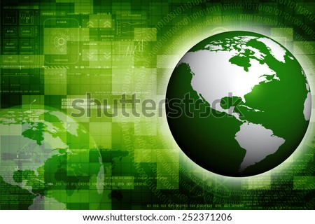 A high quality 3d earth - stock photo