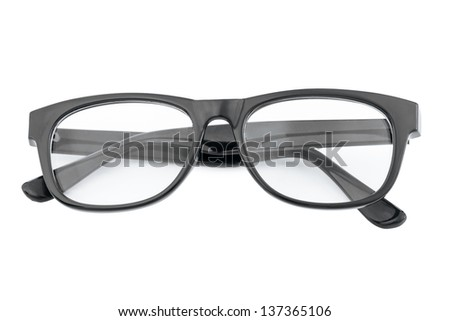 a hipster glasses - stock photo