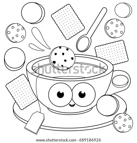 biscuit coloring pages-#43