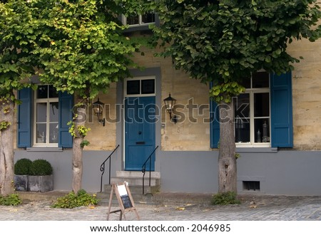 A house in Limburg,Holland - stock photo