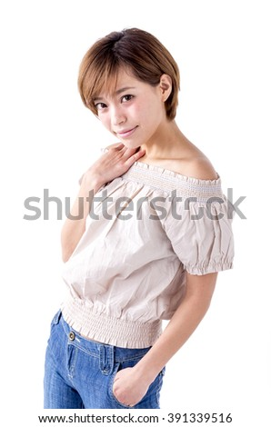 A Japanese woman in her late twenties