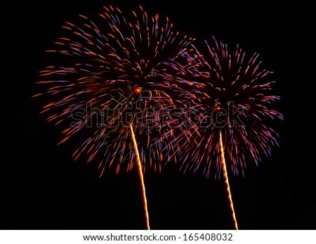 A large Fireworks Display event.
