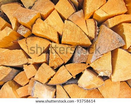a lipe of cut stump log texture - stock photo