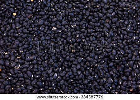a lot of black beans for background uses