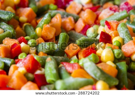 A lot of vegetables food. - stock photo