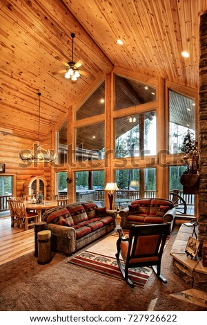 Cabin stock images royalty free images vectors for Log cabin furniture canada