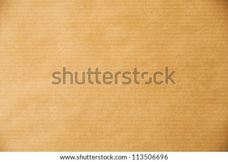 A Macro photo of a sheet of packaging paper. For background and textures