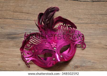 A mask - stock photo